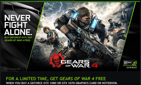 Gears of War offer