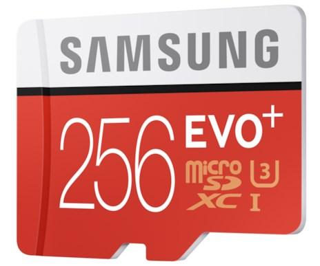 Samsung 256GB MicroSD
