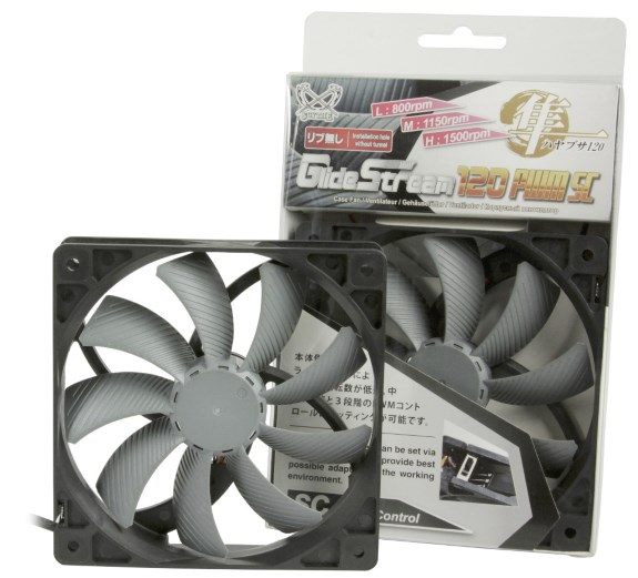 Scythe GlideStream 120 PWM SC fan