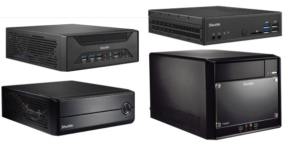 Shuttle new mini PCs