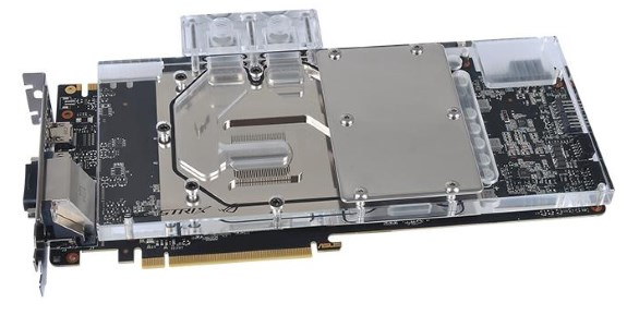 Thermaltake Pacific V-GTX 10 Series Transparent Water Block