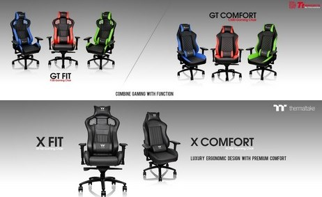 ThermalTake gaming chairs