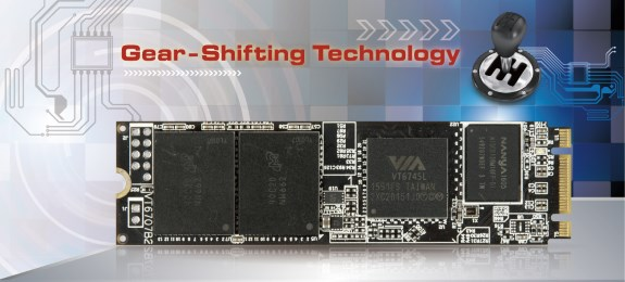 VIA SSD Gear Shifting