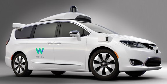Waymo self driving cars