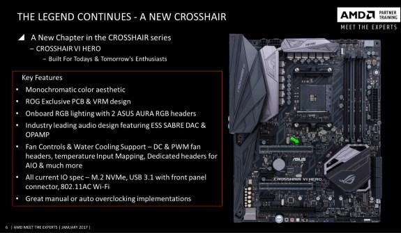 Asus Crosshair vI Hero AM4