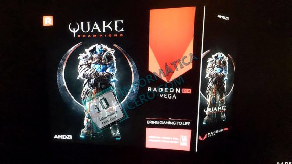AMD Radeon RX Vega with Quake Champs