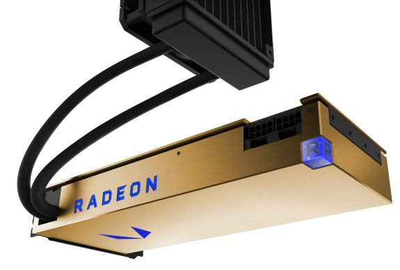 Radeon Vega Frontier Edition Liquid Cooled