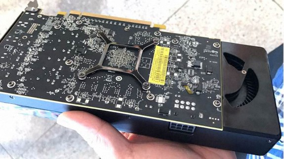 RX 580 AMD engineering sample