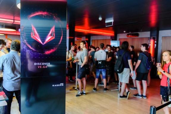 AMD RX Vega event