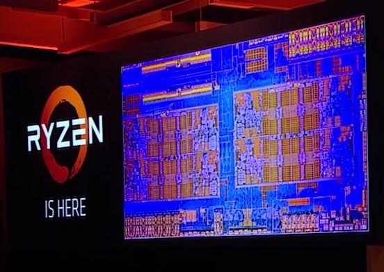 AMD Ryzen die shot