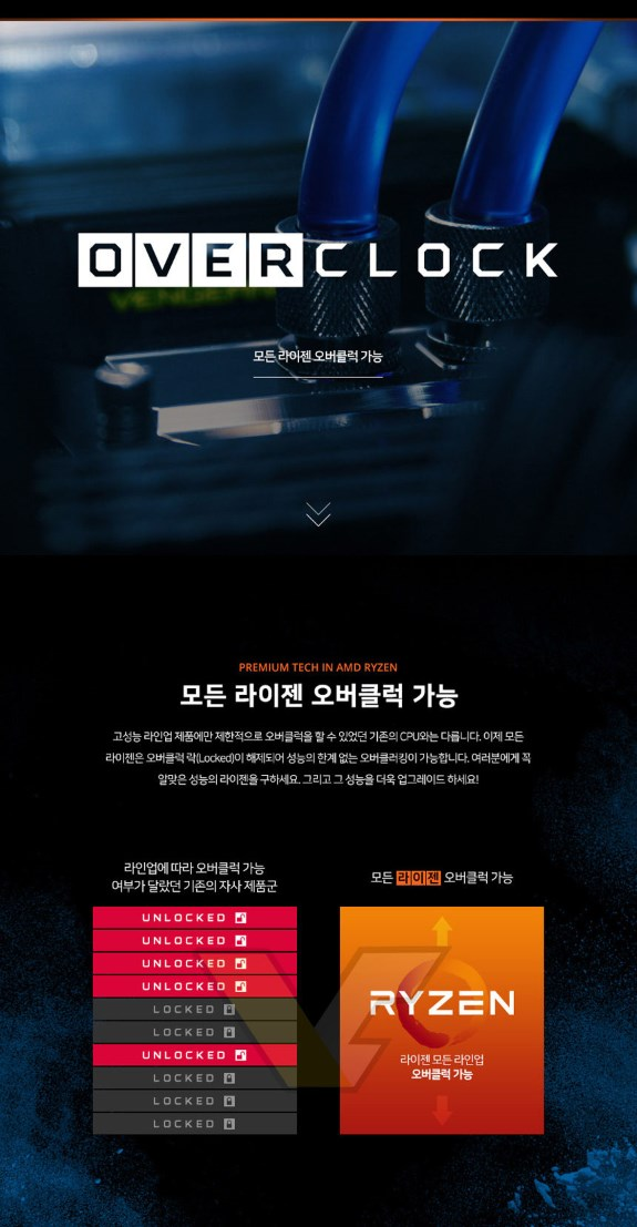 AMD Ryzen Oc slide Korean