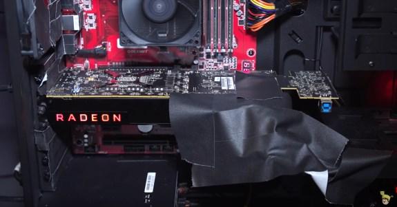 AMD VEGA shown off card