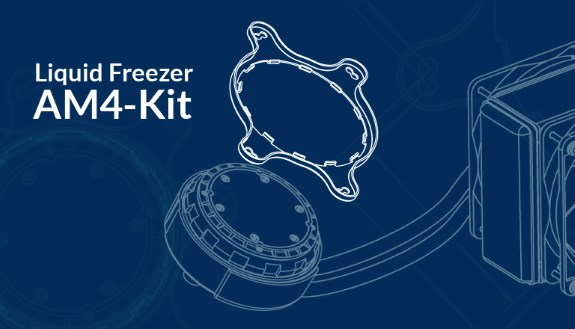 Arctic Cooling AM4 upgrade kit