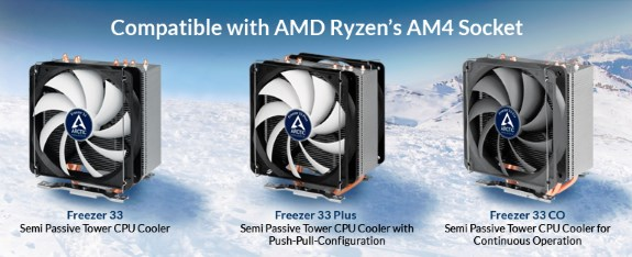 Arctic gets Ryzen support