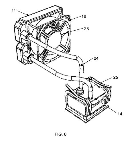 Asetek patent