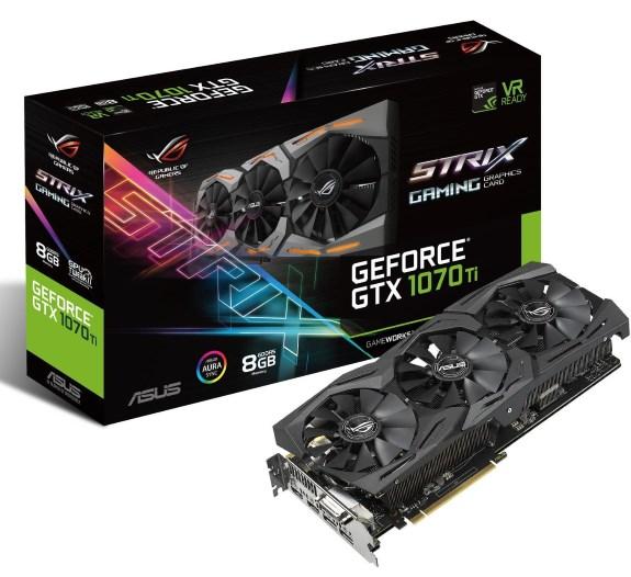 STRIX GTX 1070 Ti