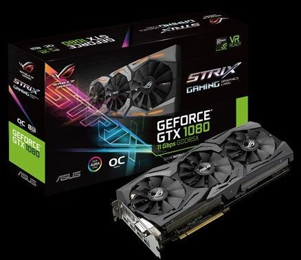 GTX 1080 ASUS with faster memory