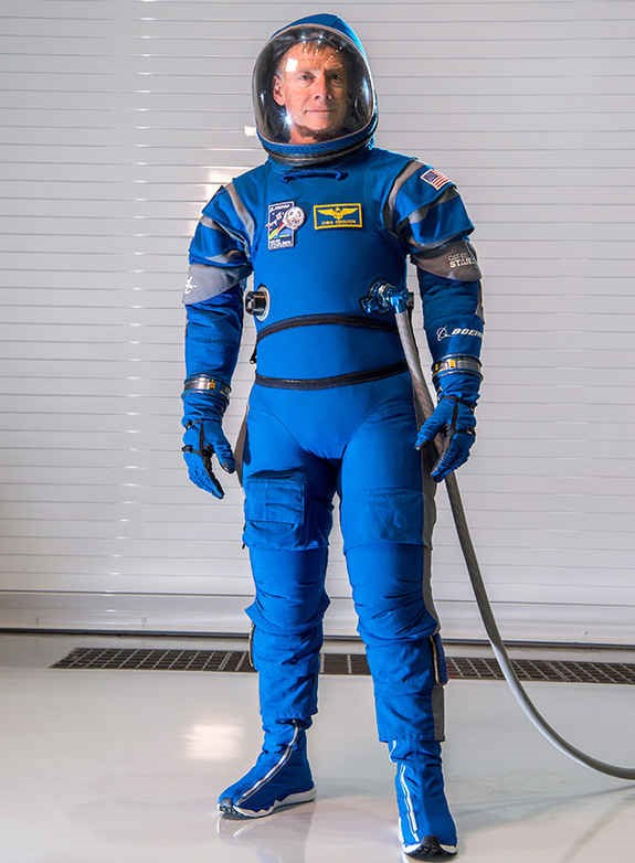 Boeing Blue spacesuits