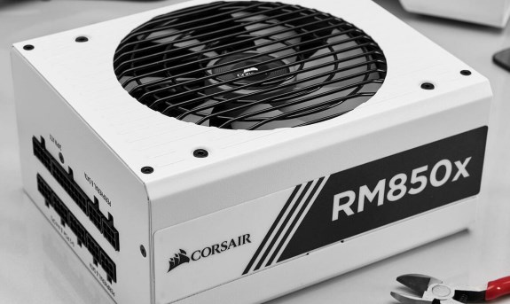Corsair adds white models to its RMx PSU lineup