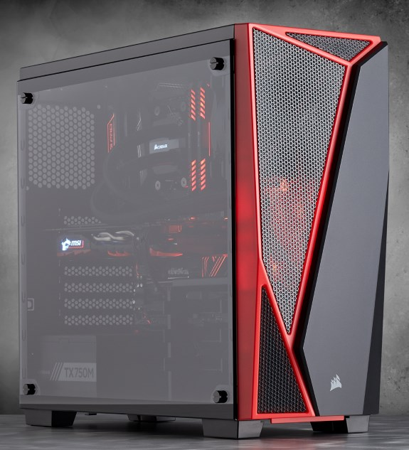 Corsair Carbide Series Spec 04 Offers Tempered Glass For