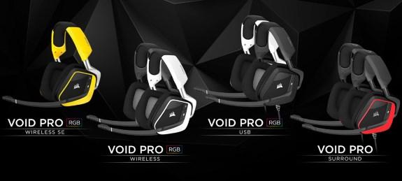 Corsair Void Pro headsets