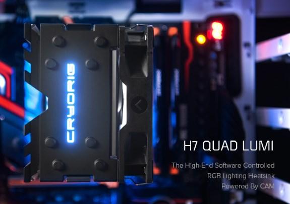 H7 Quad Lumi RGB Cooler