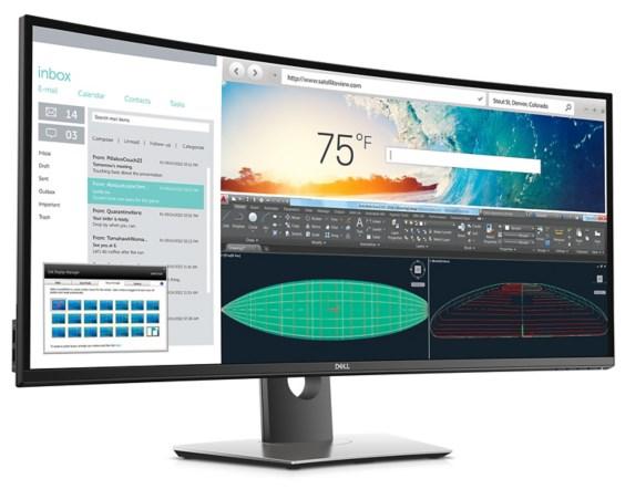 UltraSharp U3818DW display