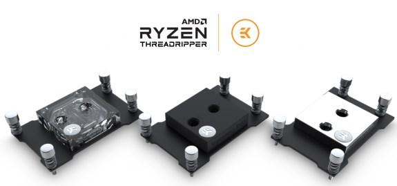 EK AMD Threadripper Supremacy EVO water blocks