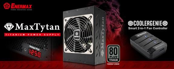 ENERMAX Intros MaxTytan 1250 and 1050W
