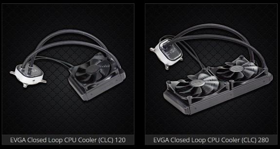 EVGA CLC units