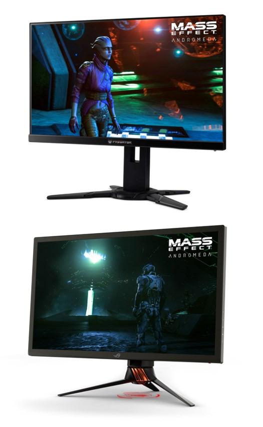 Asus ROG Swift PG27UQ and the Acer Predator XB272-HDR