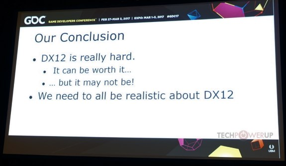 DX12 talk at GDC2017