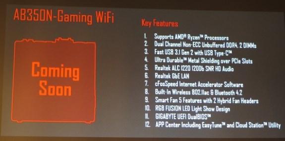 AB350N-GAMING WiFi