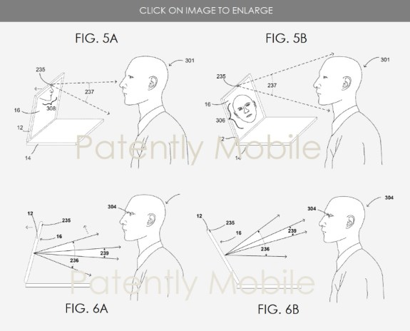 GOOG patent for auto opening laptop lid