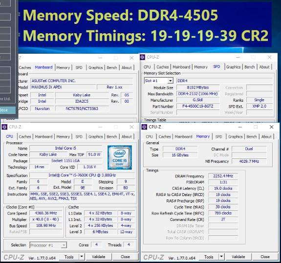 DDR4 4505