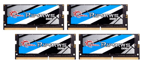 64GB DDR4 SO-DIMM Kit at 3466MHz CL17-17-17-37