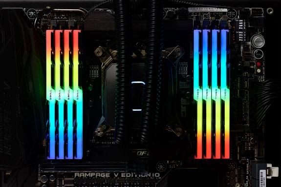 Gskill fancy RGB LED RAM