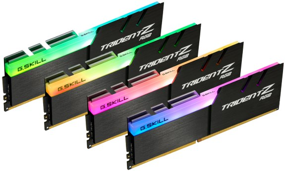 Trident Z RGB Memory Kit at DDR4-4266MHz