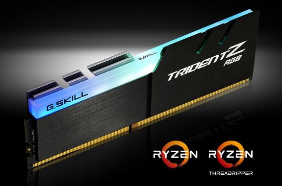 Trident Z RGB Memory Kits for  AMD Ryzen