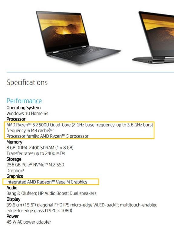Envy x360 laptop