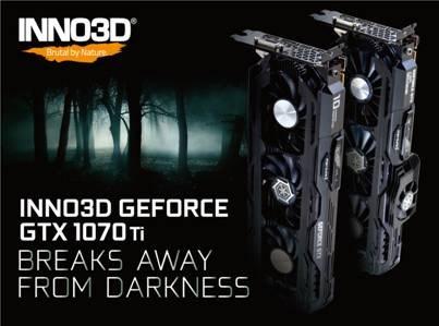 GeForce GTX 1070 Ti Inno3D