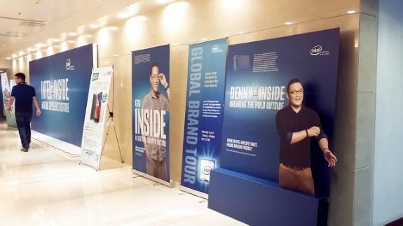 Intel Inside employee posters