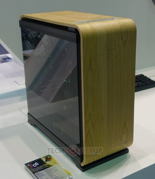 In Win Experimenting With Wood Covers On Pc Cases