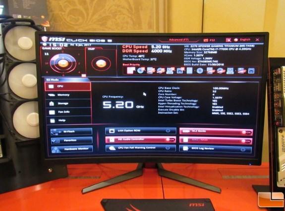 CES MSI 5200MHz 7770K autopilot