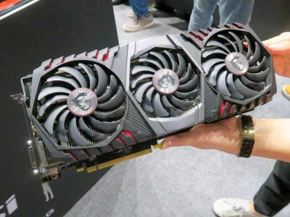 GeForce GTX 1080 Ti Gaming X TRIO