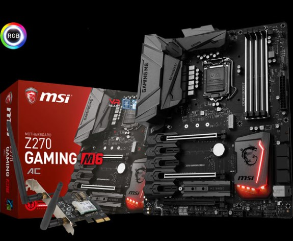 Z270 GAMING M6 AC motherboard