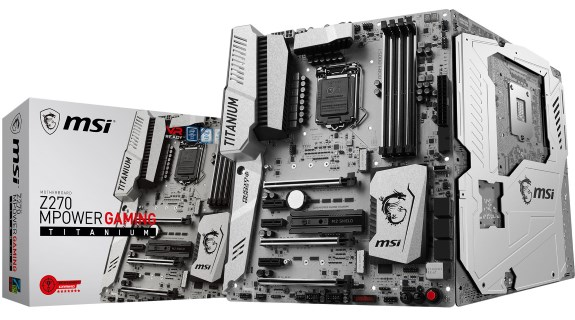 MSI Z270 MPower Titanium Gaming