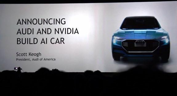 NVIDIA Audi partnership