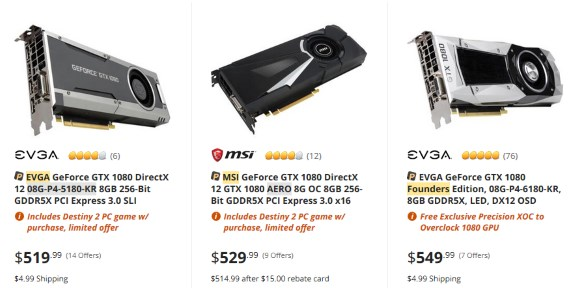 Ethereum craze: NVIDIA GeForce GTX 1070 now more expensive