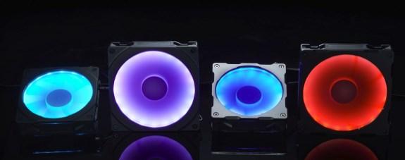 Halos RGB Fan Frame